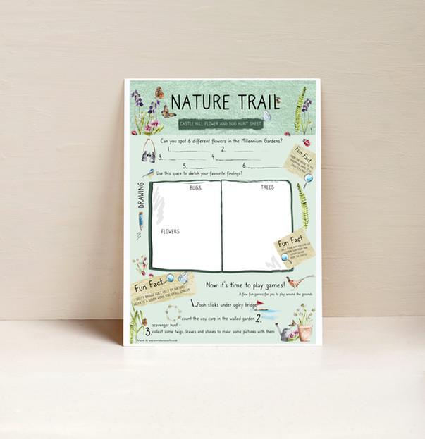 Natural Trail Activity Sheet