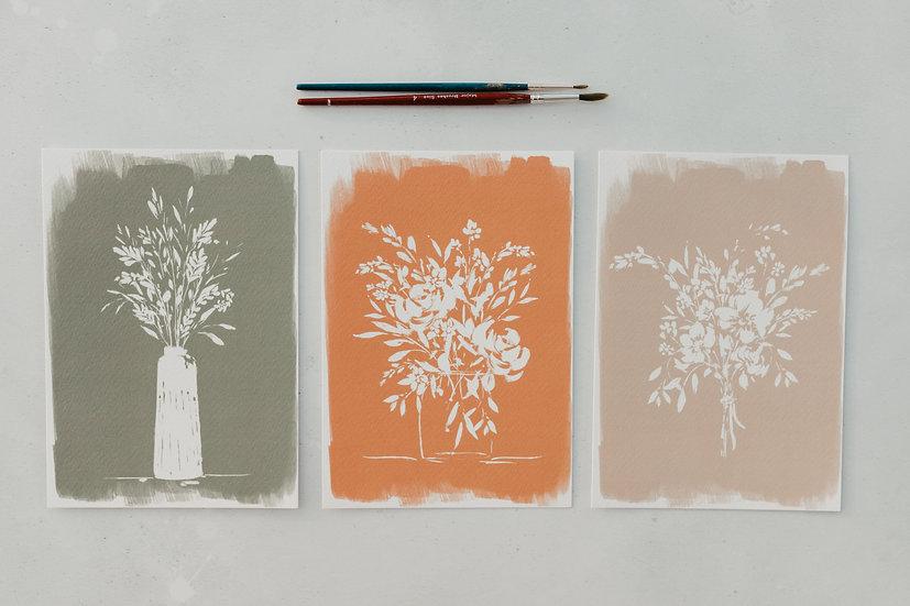 Trio of Blooms
