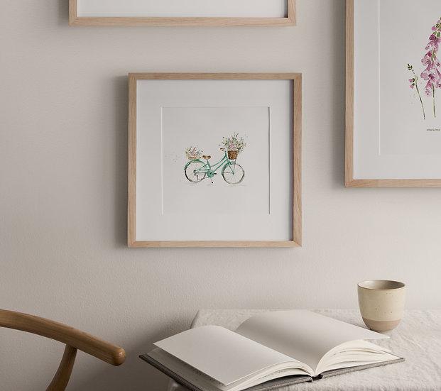 Bike Full of Blooms