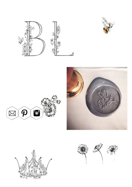 Bee Lavish Branding