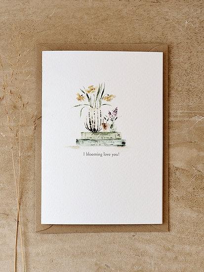 Books & Blooms