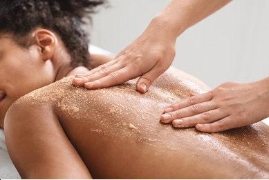 Brown Sugar Scrub Massage