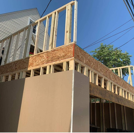 Rooftop Framing