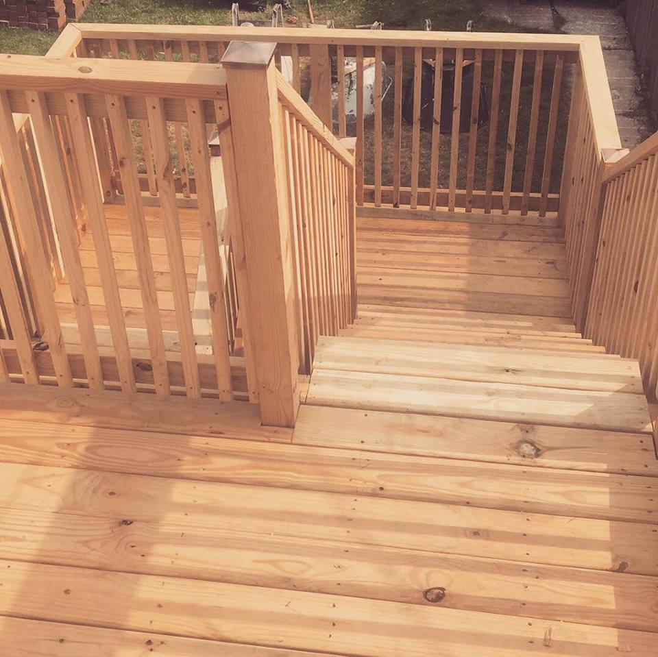 Deck Rebuild After