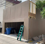 Exterior Drywall Continued