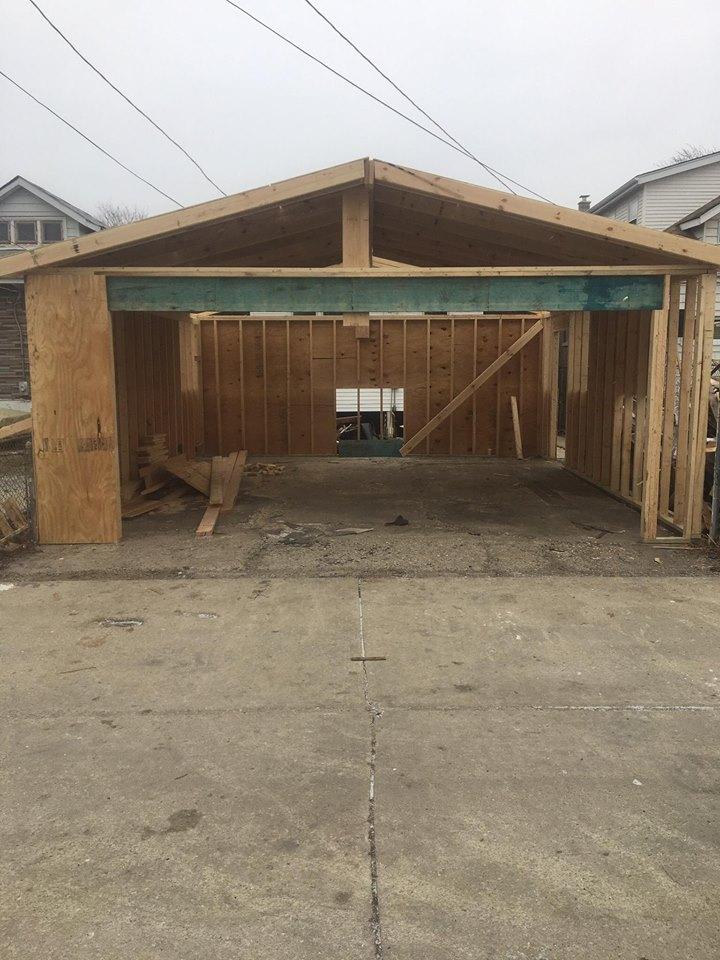 Garage During