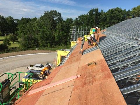 Commercial Roof Sheathing