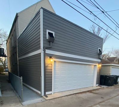 New Construction Garage