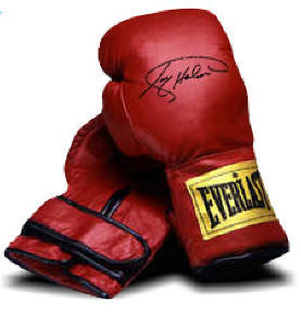 1 Autographed Boxing Glove