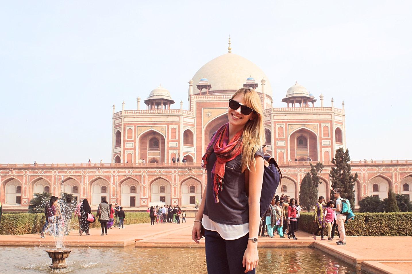 Inde: Voyager seule à New Delhi