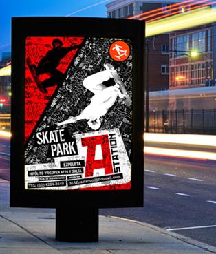 Skate Park A Station