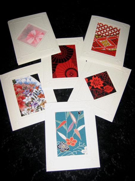 Kimono Textile Card Packs