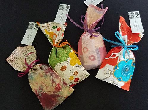 Kimono Fabric  Lavender Sachets