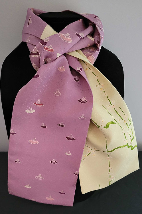 Kimono Scarf S9598- Fan and Floral Sample Patterns