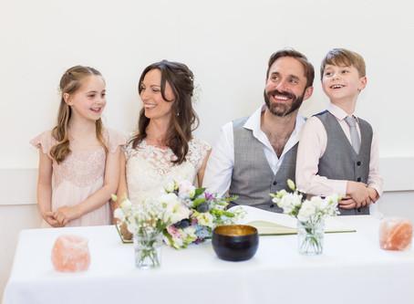 Hazel & Ted's family wedding