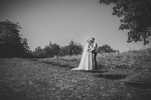 Intimate wedding venue, photos at nearby Rayleigh Mount
