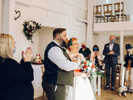 Micro wedding appreciation society...