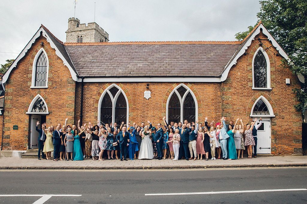 boutique wedding venue, old school house essex