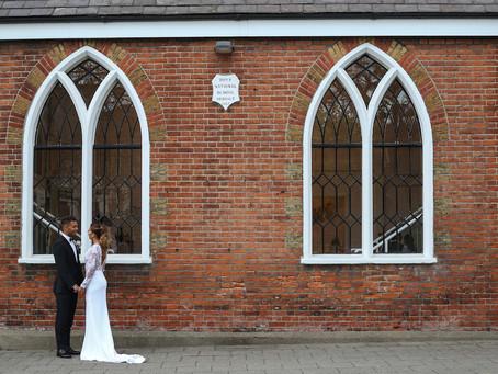 Sheridon & Lauris' wedding day