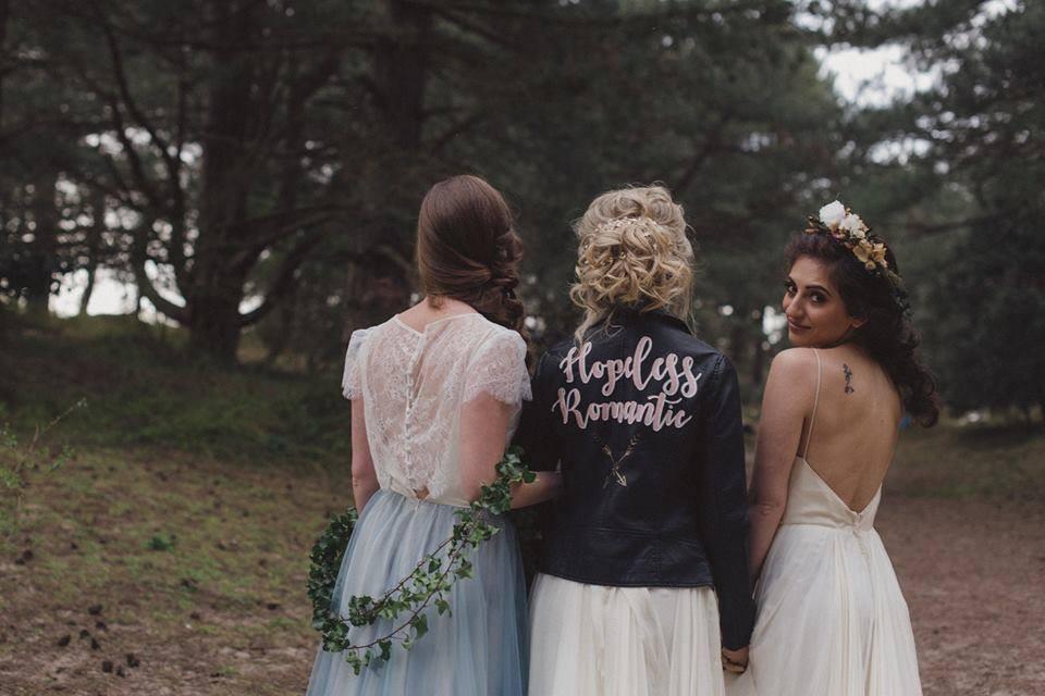 Bridal leather jackets