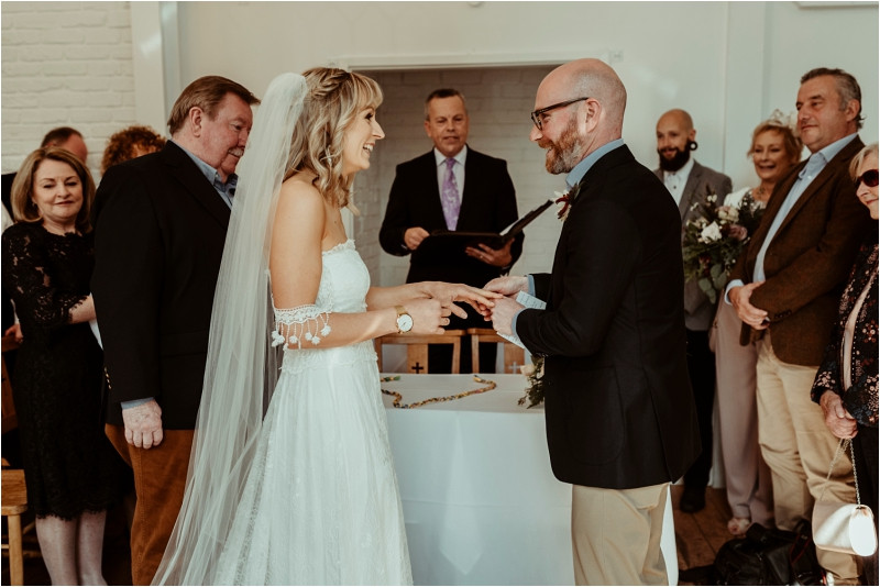 Unique weddings at The Old Parish Rooms