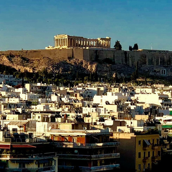 Athens Greece Sunset Day 1