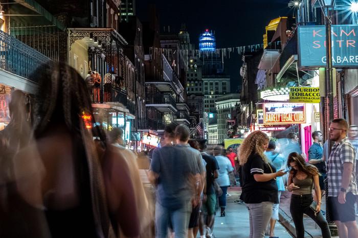 New Orleans, Bourbon Street