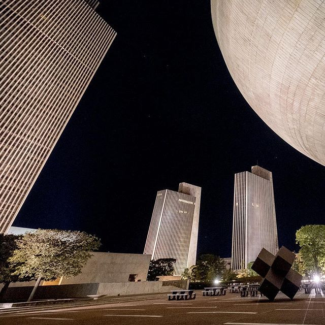 The Egg and the Empire State Plaza