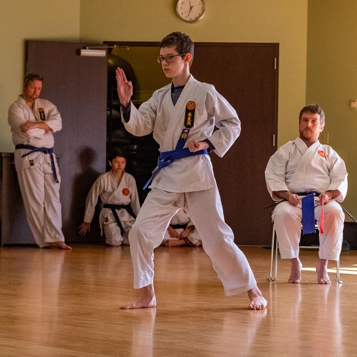 Geoff @ Penor Karate Tournament