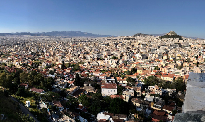 Greece From the Acropolis