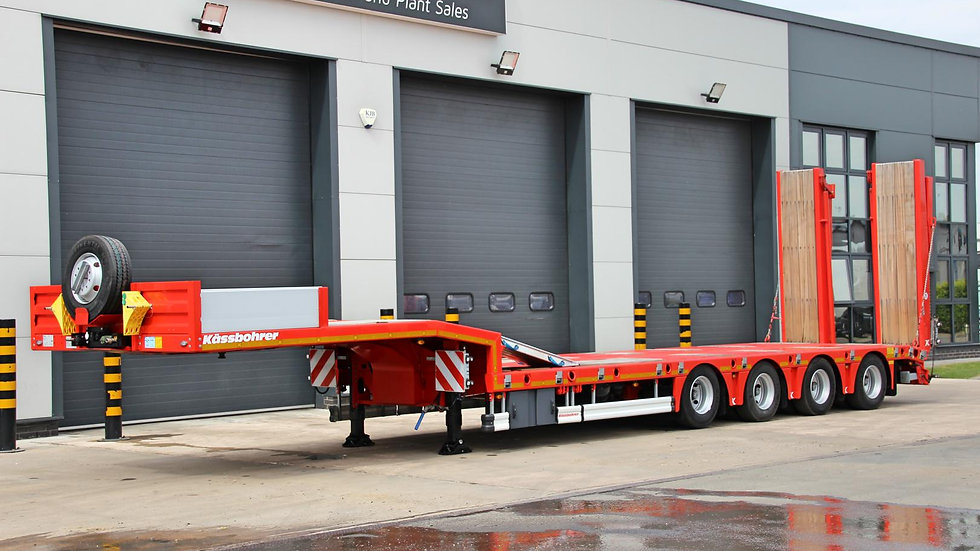 Kassbohrer 4 Axle Extendable Rear Steer Low Loader 67800GVW (New / Unused)