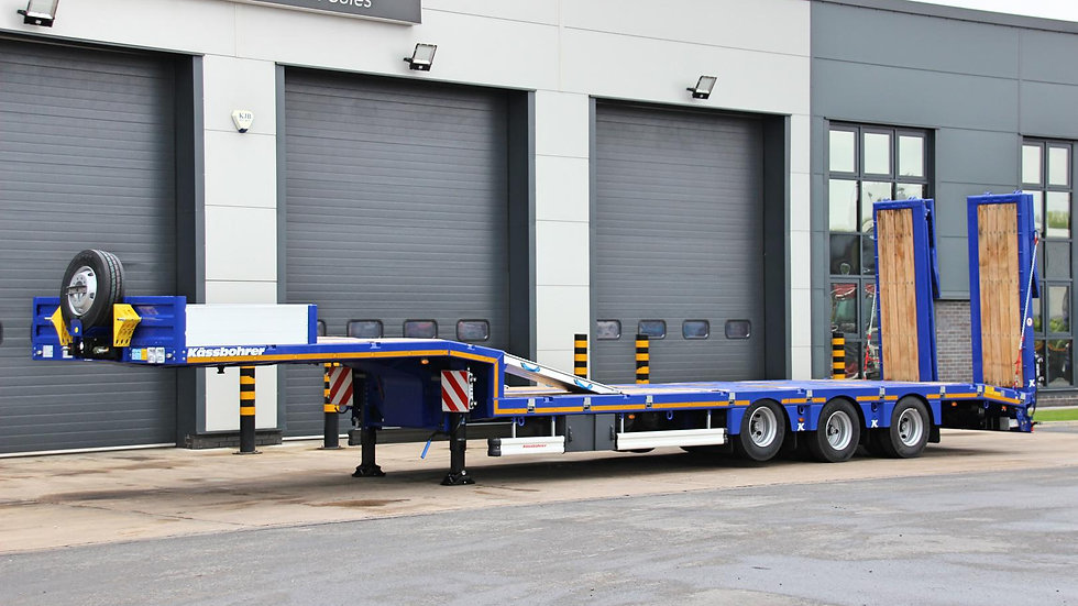 Kassbohrer Tri Axle Non-Extendable Low Loader Trailer 52800GVW (New / Unused)