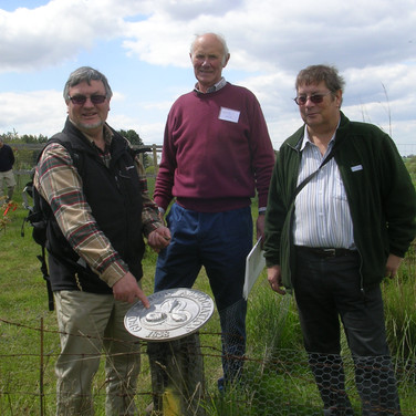 Visit to Pliocene Forest at Sutton Knoll 2012