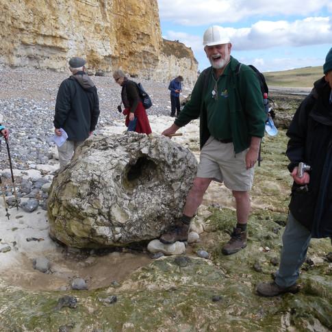 West Sussex GS visit to Hope Gap 2012