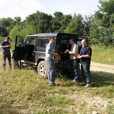 Preparing for fieldwork in France