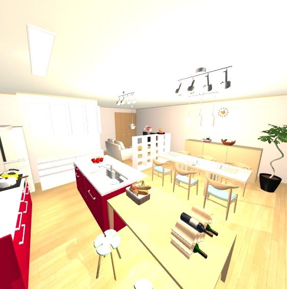 インテリアコーディネート パース マンション 料理教室プラン2