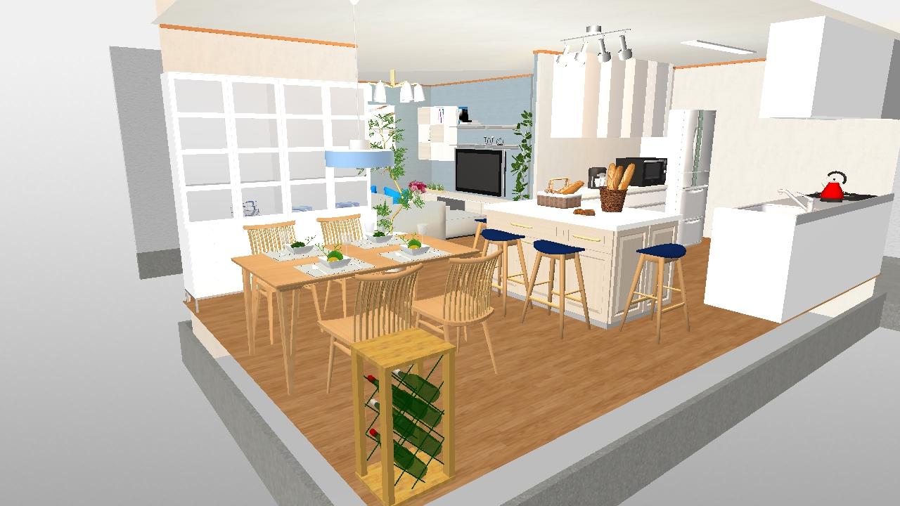 パン教室 キッチン1