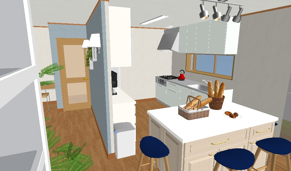パン教室 キッチン3