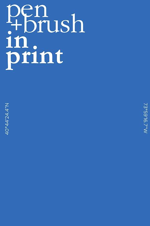 Pen + Brush In Print Vol. 2