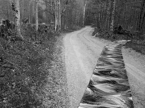 Allie Wilkinson - endless (road), Photograph of outdoor installation