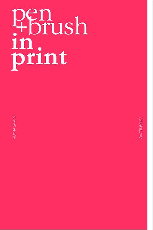 Pen + Brush In Print Vol. 3