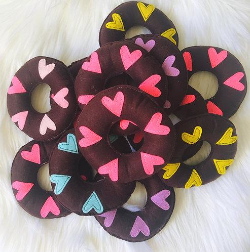 Heart Catnip Doughnut
