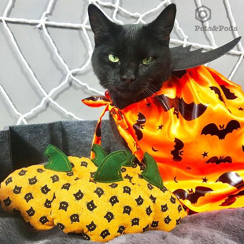 Halloween Organic Catnip Pumpkin