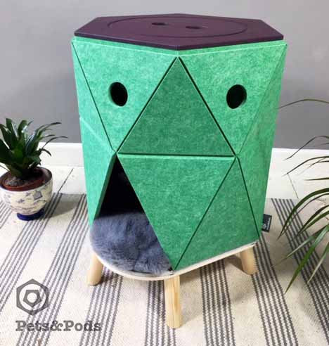 Hexo - modern cat / dog house