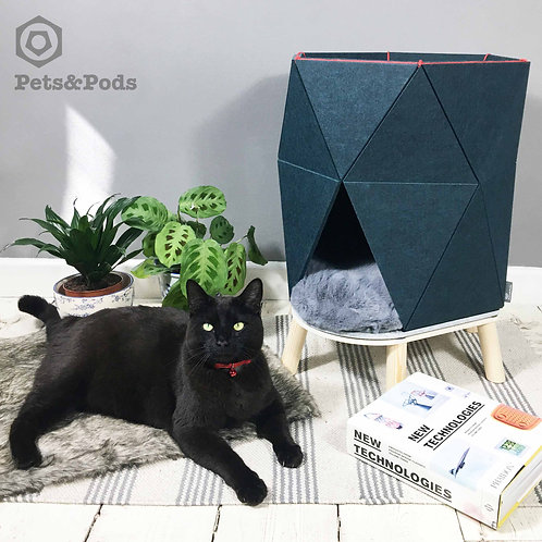 Hexo - Double Deck modern pet house