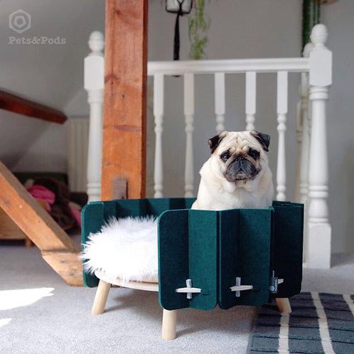 BISCUIT raised pet bed