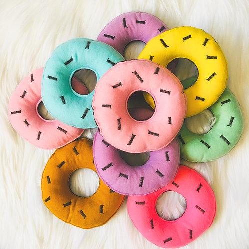 Catnip Doughnut with Icing