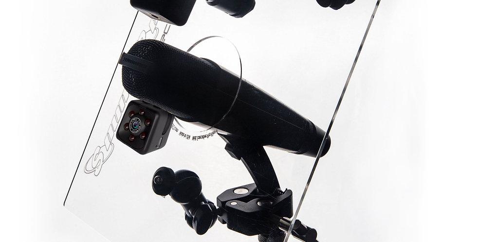Executive Pro Series II + Tuner (Chromatic) + Mini-Camera + Phone/GoPro Mount