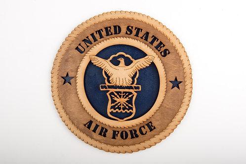 US Air Force Plaque
