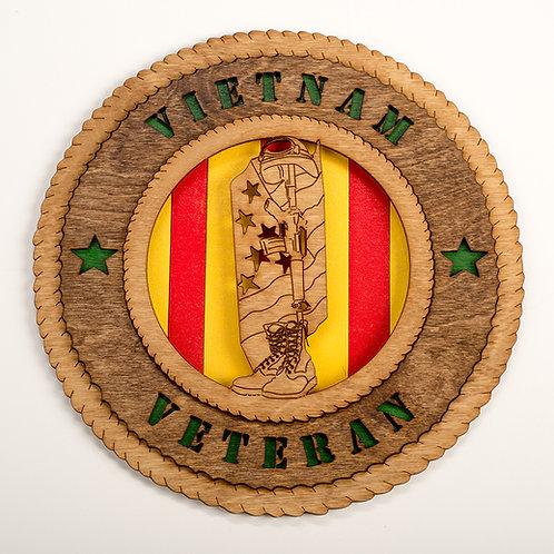 Vietnam Veteran Plaque